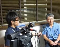 地元テレビ局のLCVさんが取材に来てくれました!2