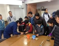 諏訪メッセ2012 コマ作り体験のご報告